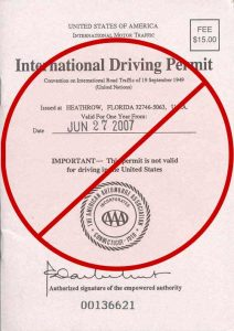 do I need an International driving license?