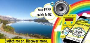 Free tourism radio in your hire motorhome in New Zealand
