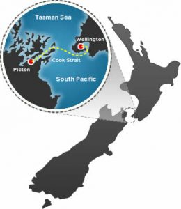 North to South Island Crossing