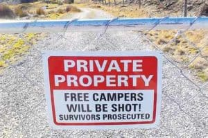 NO-freedom-camping